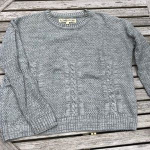 Urban Outfitters Love Madly Gray Knit Sweater, S.